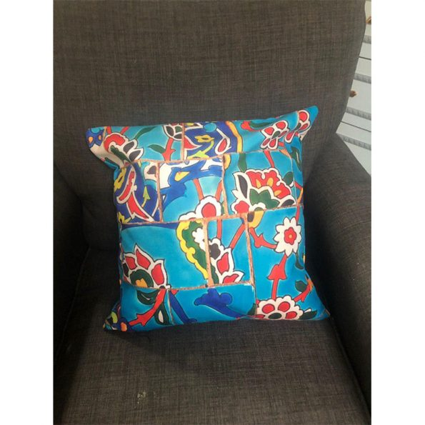 Velvet Cushion With (Double-Sided Fabric , one side)