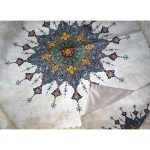 persian velvet tablecloth (matching with cushions) (3-2)